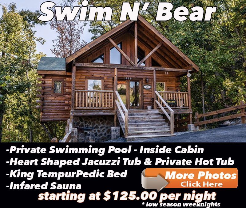 Pigeon Forge Cabins Close To The Parkway 423-367-8450